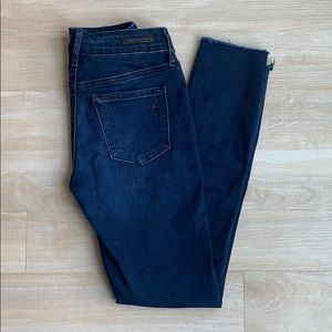 Articles of Society Carly Cut off Hem Jeans